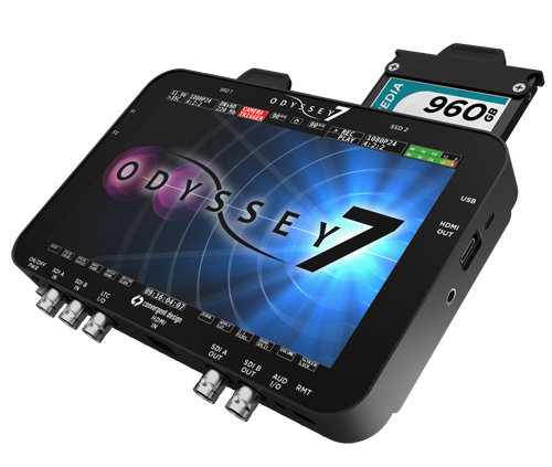 Odyssey 7 OLED Monitor with ProRes Recording   Midtown Video