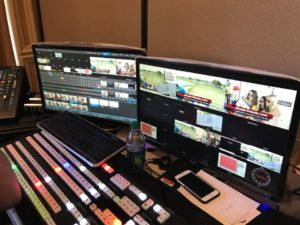 NewTek TriCaster TC1 switching, streaming, recording the action